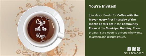 Coffee with the Mayor Bowlin - February 2, 2017