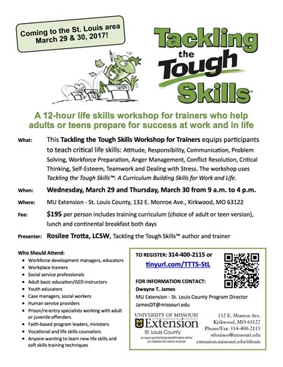 Tackling the Tough Skills - UM Extension