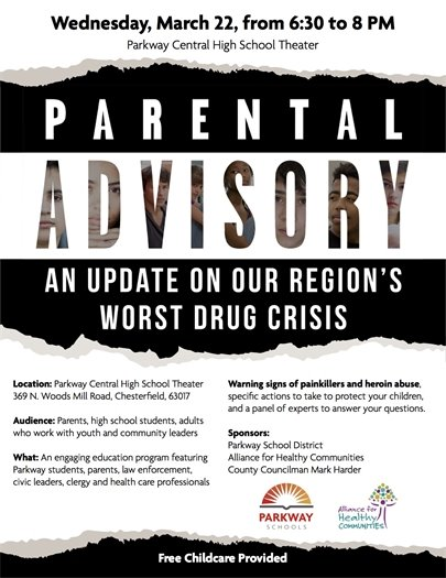 Meeting on Drug Crisis - March 22, 2017 at 6:30 p.m.