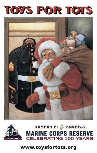 Toys for Tots - St. Louis County Police Department - Wildwood Precinct