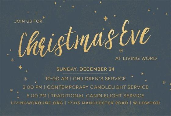 Christmas Eve at Living Word Church